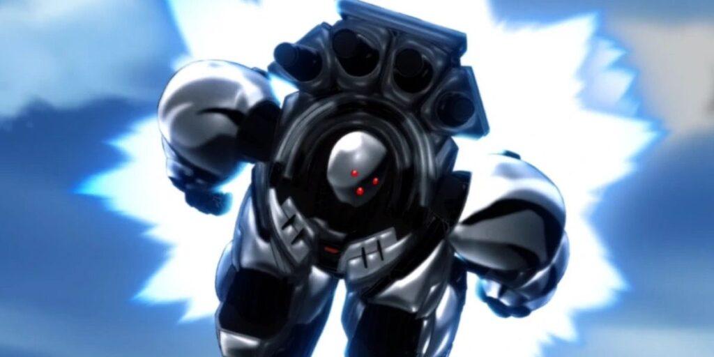 One-Punch Man'dan  Metal Şövalye