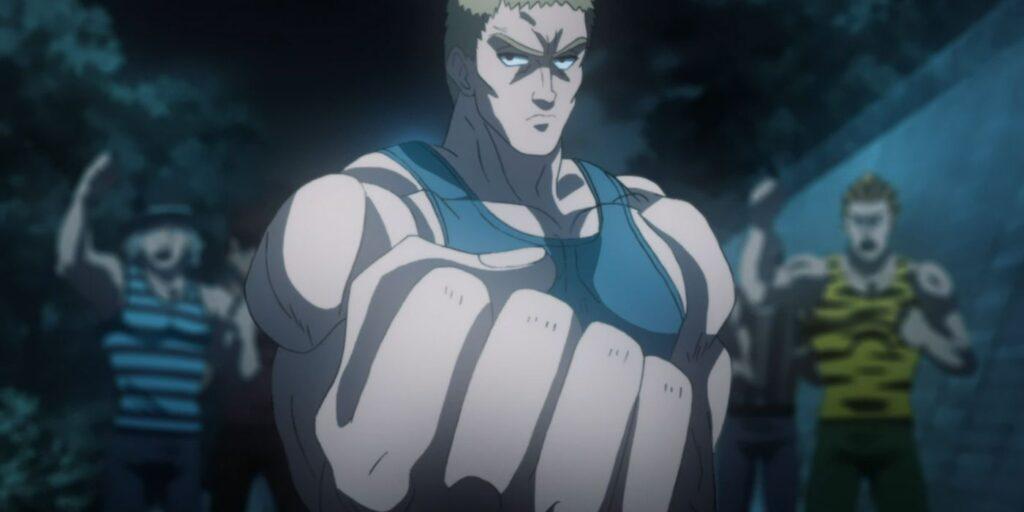 One-Punch Man'dan  Atletli usta