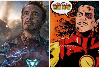 Marvel Film Sahneleri Çizgi Romanda Nasıl Görünürdü?